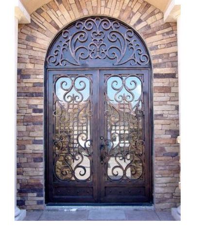 двойные внешние входные двери